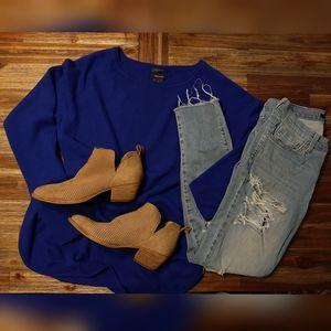 Halogen Cashmere Blend Sweater